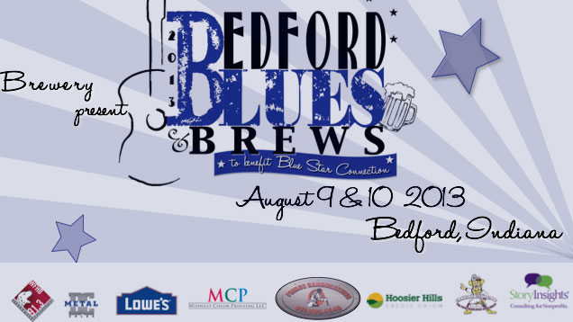2013 Bedford Blues & Brews… to benefit Blue Star Connection