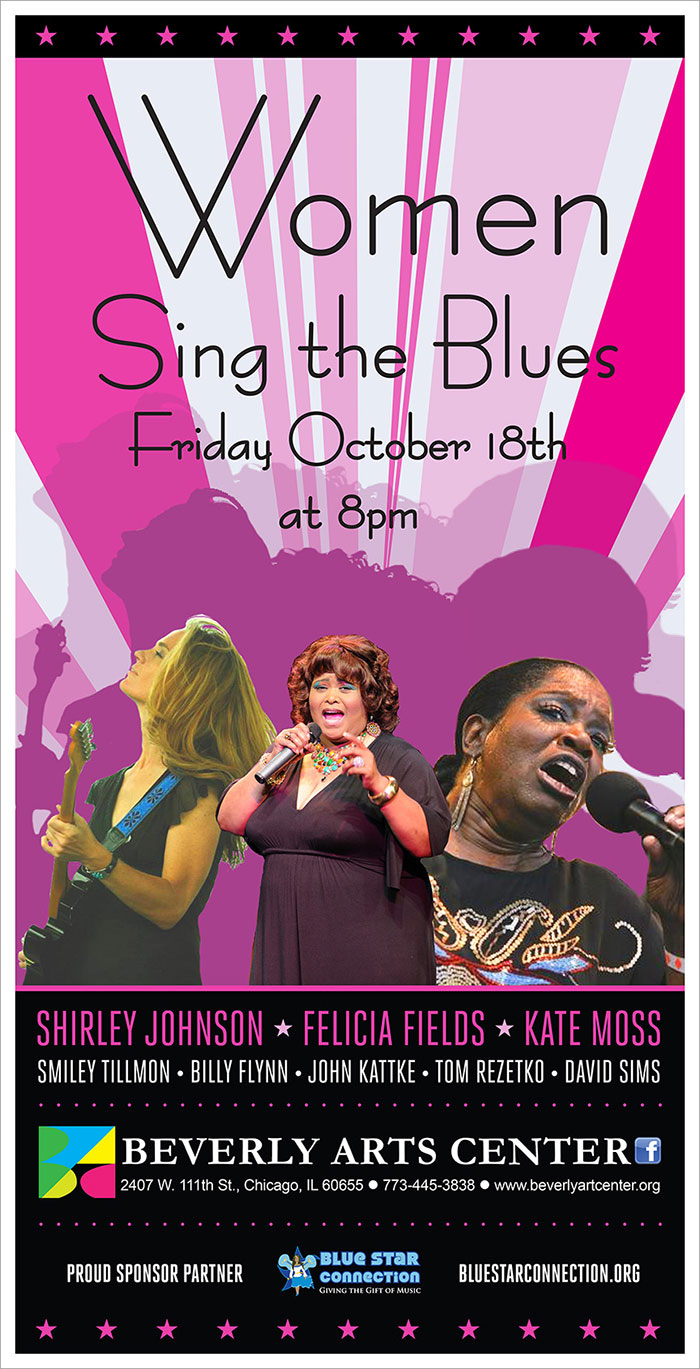 Women Sing the Blues – Sponsored by Blue Star Connection