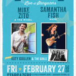 Blue Star Colorado Springs 2015: Mike Zito – Samantha Fish – Katy Guillen