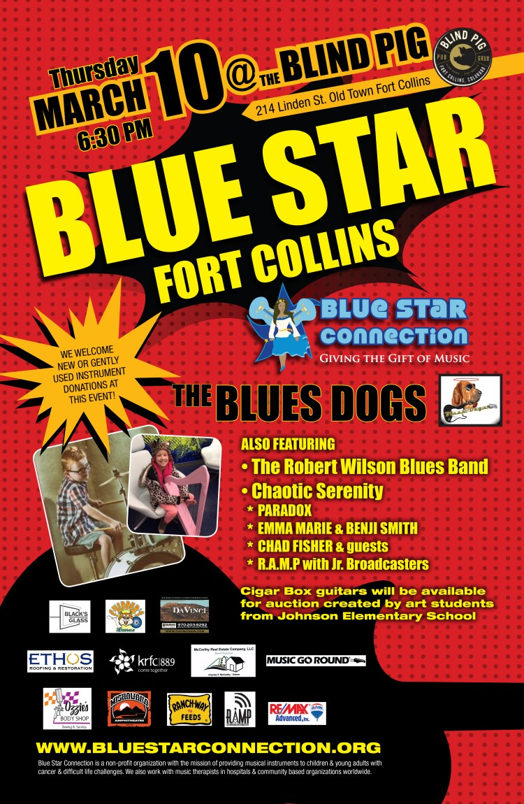 March 10, 2016 – Blue Star Fort Collins!