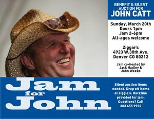 Jam for John March 20, 2016 at Ziggies Denver, CO