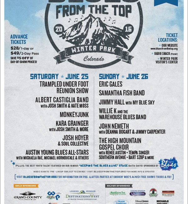 14th Annual Blues From the Top