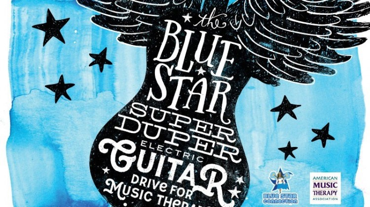 Blue Star Super Duper Electric Guitar Drive for Music Therapy