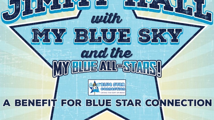 Jimmy Hall With My Blue Sky Show on Oct 15, 2016 to Benefit Blue Star Connection